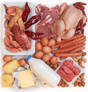 Quellen für Vitamin B12 in Lebensmitteln